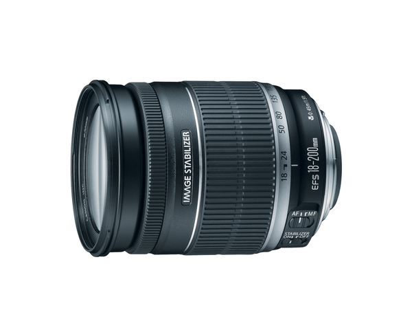 Canon EF-S 18-200mm f/3.5-5.6 IS - B&C Camera
