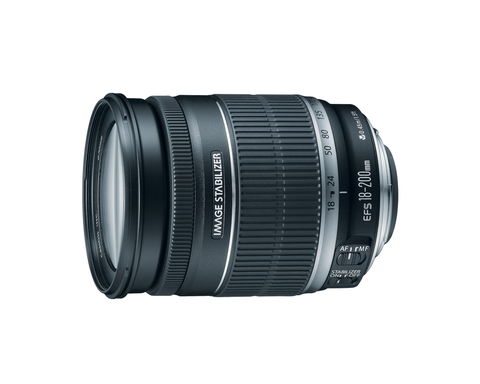 Canon EF-S 18-200mm f/3.5-5.6 IS by Canon at B&C Camera