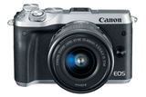 Canon EOS M6 EF-M 15-45mm f/3.5-6.3 IS STM Kit Silver