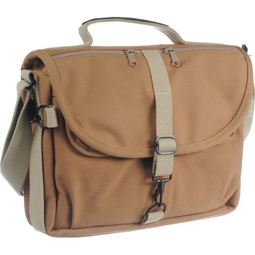 FujiFilm/Domke F-803 Camera Satchel Shoulder Bag (Sand) - B&C Camera