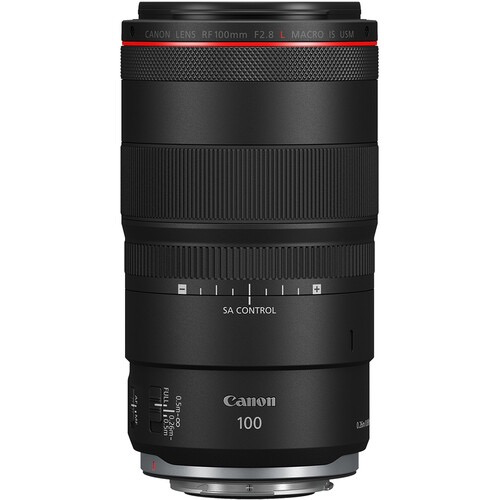 Canon RF 100mm f/2.8L Macro IS USM Lens