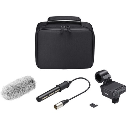 Sony XLR-K2M XLR Adapter Kit with Microphone by Sony at B&C Camera