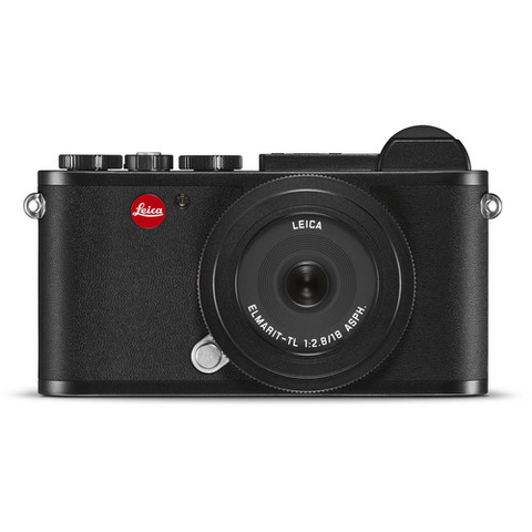 Leica CL Mirrorless Digital Camera with 18mm Lens (Black) by Leica at bandccamera
