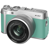 FUJIFILM X-A7 Mirrorless Digital Camera with 15-45mm Lens (Mint Green)