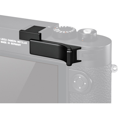 Leica M10 Thumb Support (Black) by Leica at bandccamera