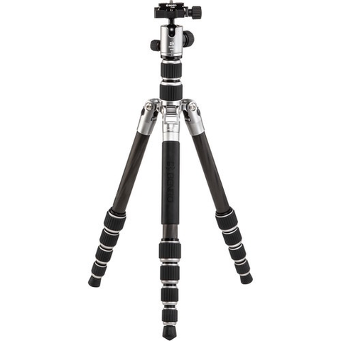 Benro Tripster Travel Tripod (0 Series, Titanium, Carbon Fiber) by Benro at B&C Camera