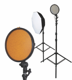 Promaster VL800D LED 2 Light Studio Kit - B&C Camera