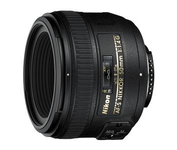 Nikon AF-S NIKKOR 50mm f/1.4G Lens by Nikon at B&C Camera