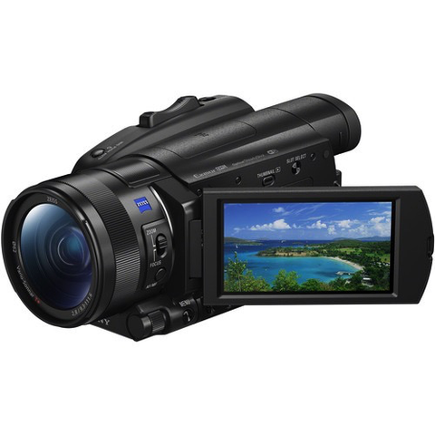 Sony FDR-AX700 4K Camcorder by Sony at B&C Camera