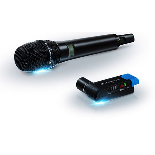 Sennheiser AVX Camera-Mountable Digital Handheld Wireless Microphone Set by Sennheiser at B&C Camera