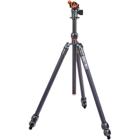 3 Legged Thing Winston 2.0 Tripod Kit with AirHed Pro Ball Head (Gray)