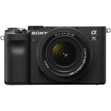 Sony Alpha a7C Mirrorless Digital Camera with 28-60mm Lens (Black)