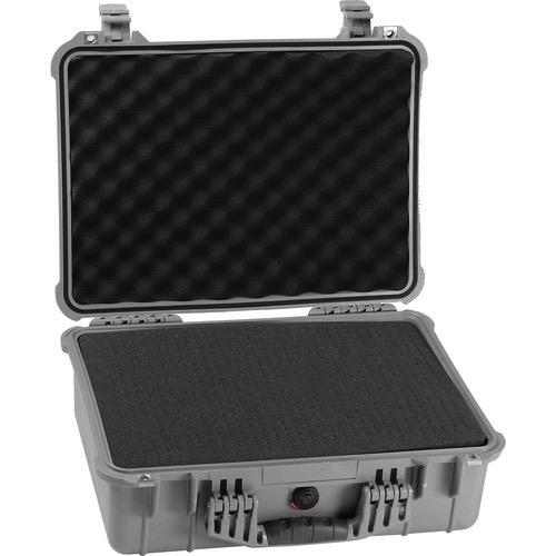 Pelican 1520 Case with Foam (Silver)