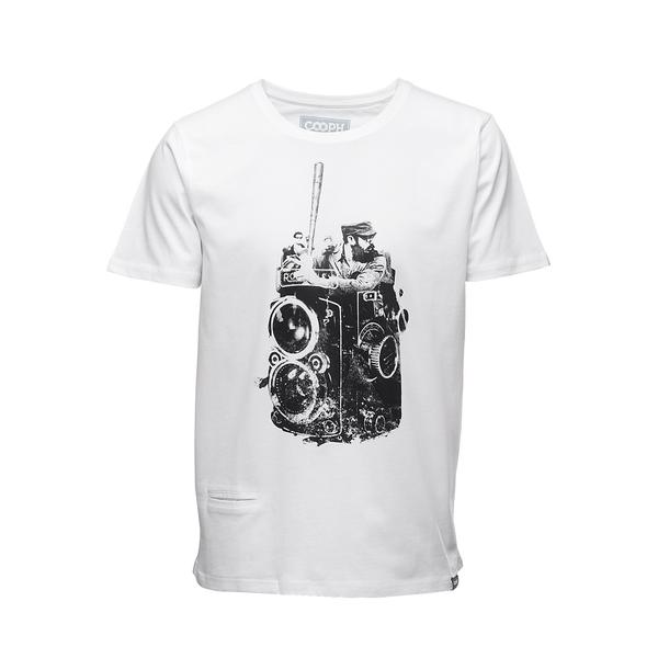 COOPH T-Shirt FIDELBALL (WHITE)-XL LARGE - B&C Camera