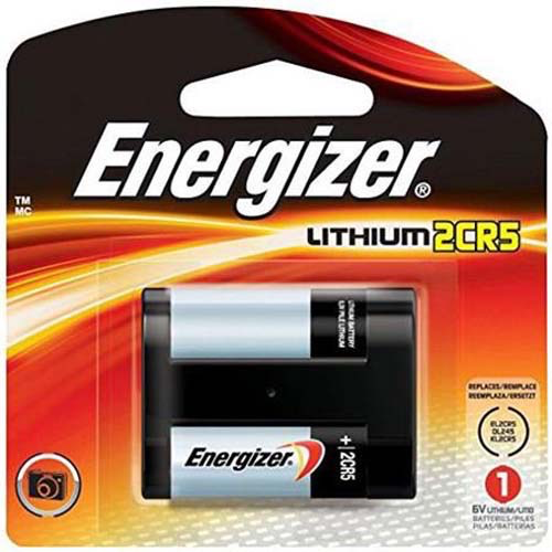 Energizer 2CR5 6 volt lithium at B&C Camera