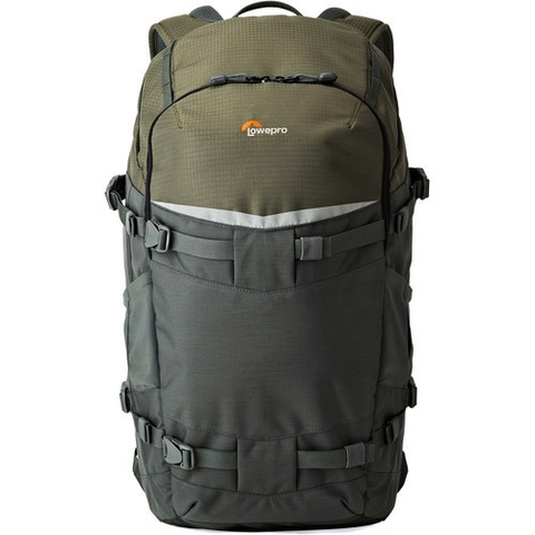 Lowepro Flipside Trek BP 450 AW Backpack (Gray/Dark Green) by Lowepro at B&C Camera