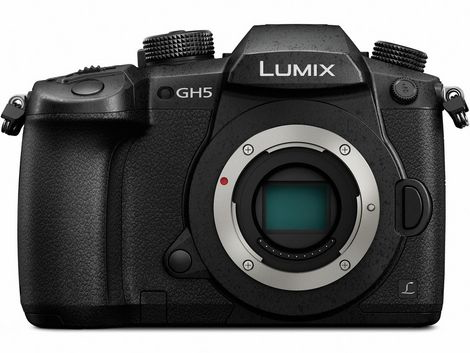 Panasonic Lumix DC-GH5 Mirrorless Micro Four Thirds Digital Camera (Body Only) by Panasonic at B&C Camera