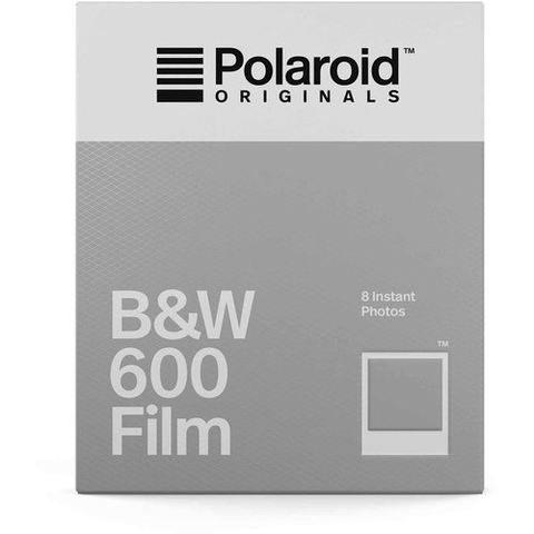 Polaroid Originals Black & White 600 Instant Film (8 Exposures) by Polaroid at B&C Camera