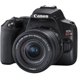 Canon EOS Rebel SL3 DSLR Camera with 18-55mm Lens (Black) by Canon at B&C Camera