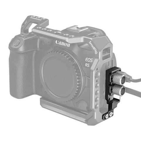 SmallRig HDMI and USB-C Cable Clamp for EOS R5 and R6 Cage