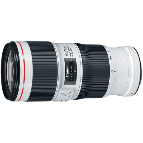 Canon EF 70-200mm f/4L IS II USM Lens by Canon at B&C Camera