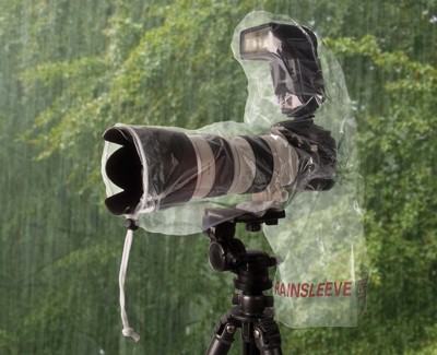 "OP/TECH USA Rainsleeve 14"" Protective Shield for Lens and Flash by OP/Tech USA at B&C Camera"