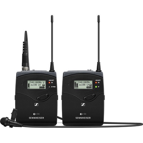Sennheiser ew 112P G4 Camera-Mount Wireless Microphone System with ME 2-II Lavalier Mic A: (516 to 558 MHz)