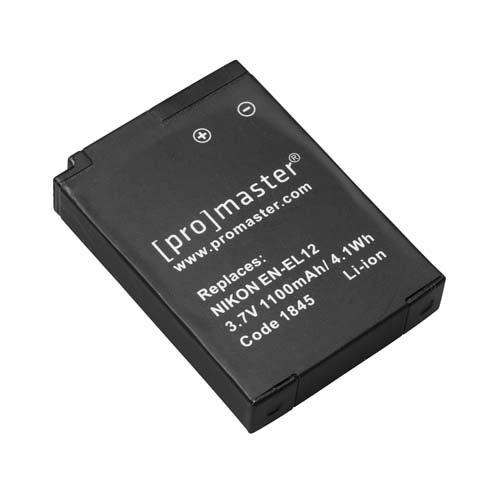 Promaster EN-EL12 Lithium Ion Battery for Nikon - B&C Camera