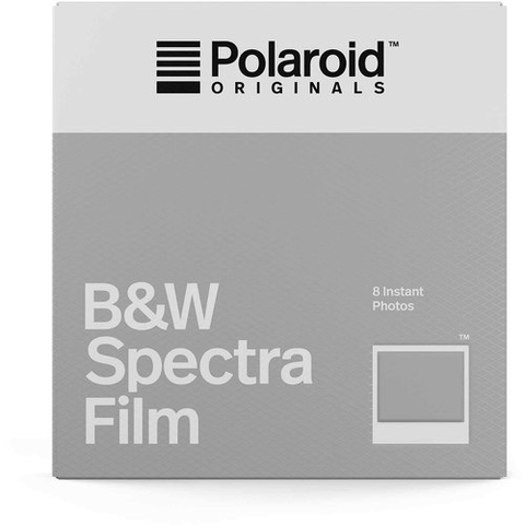 Polaroid Originals Black & White Spectra Instant Film (8 Exposures) by Polaroid at bandccamera
