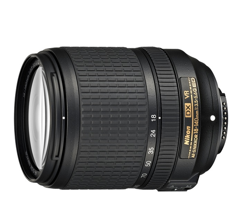 Nikon AF-S DX NIKKOR 18-140mm f/3.5-5.6G ED VR Lens by Nikon at bandccamera