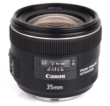 Canon EF 35mm f/2 IS USM Wide-Angle by Canon at B&C Camera