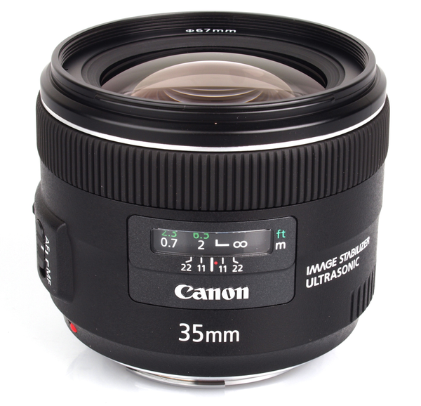 Canon EF 35mm f/2 IS USM Wide-Angle - B&C Camera