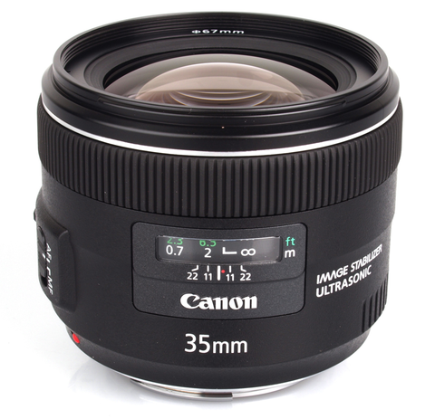 Canon EF 35mm f/2 IS USM Wide-Angle