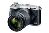 Canon EOS M6 EF-M 18-150mm f/3.5-6.3 IS STM Kit Silver