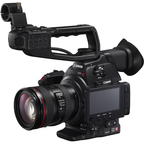Canon C100 Mark II Cinema EOS Camera with 24-105mm Lens and Dual Pixel CMOS AF Feature Upgrade