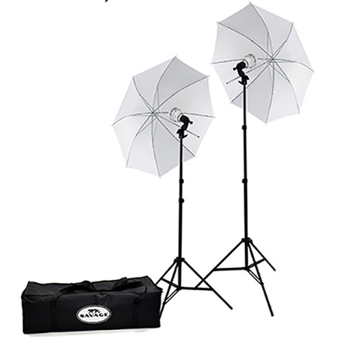 Savage 500W LED Studio Light Kit - B&C Camera