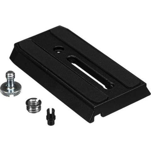 "Manfrotto 501PL Sliding Quick Release Plate with 1/4""-20 Screw by Manfrotto at B&C Camera"