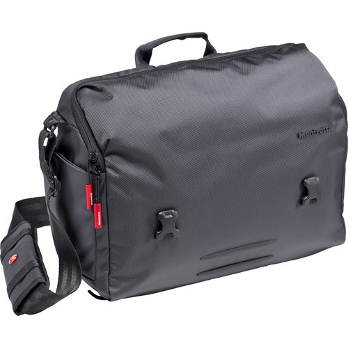 Manfrotto Manhattan Speedy-30 Messenger (Gray) by Manfrotto at B&C Camera