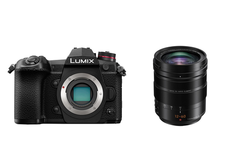 Panasonic Lumix DC-G9L Digital Mirrorless Camera with Lumix Leica DG Vario-Elmarit 12-60mm F/2.8-4.0 ASPH Power O.I.S. Lens by Panasonic at bandccamera