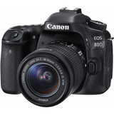 Canon EOS 80D DSLR Camera with 18-55mm Lens by Canon at B&C Camera