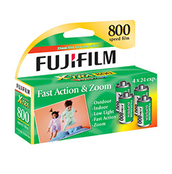 Fujifilm Fujicolor Superia X-TRA 800 Color Negative Film (4 Pack) by Fujifilm at bandccamera