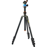 3 Legged Thing Punks Patti Tripod with AirHed Mini Ball Head (Gray and Blue with Copper Accents) by 3leggedthing at B&C Camera