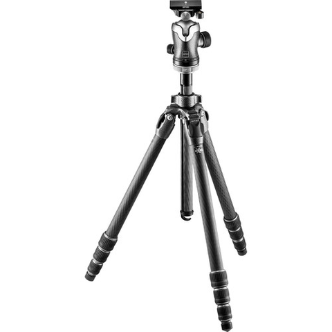 Gitzo Mountaineer Series 2 Carbon Fiber Tripod with Center Ball Head by Gitzo at bandccamera