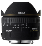 Sigma 15mm F2.8 EX DG Diagonal Fisheye Lens for Nikon by Sigma at B&C Camera