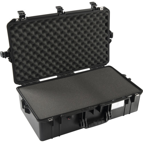 Pelican 1605Air Carry-On Case (Black, with Pick-N-Pluck Foam) by Pelican at bandccamera