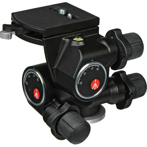 Manfrotto 410 Junior Geared Head - Supports 11 lbs by Manfrotto at bandccamera