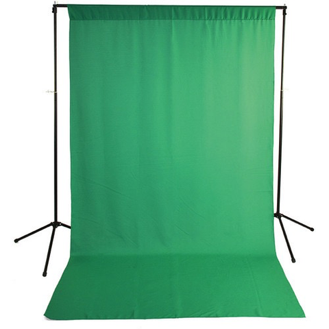 Savage Economy Background Kit 5x9' (Chroma Green Backdrop) by Savage at B&C Camera