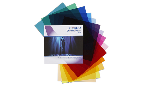 "Rosco Color Effects Gel Kit 12"" x 12"" Sheets - B&C Camera"