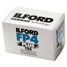 Ilford FP4 Plus 125, Black & White Film, 35mm/24 exposures