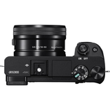 Sony Alpha a6300 Mirrorless Digital Camera with 16-50mm Lens (Black) by Sony at bandccamera